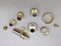 High precision CNC brass parts factory customized OEM nonstandard motorcycle