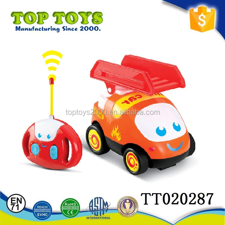 remote control toy car plastic small fire truck