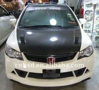 Carbon fiber hood /bonnet for 06-11 Honda Civic fd2 RR style