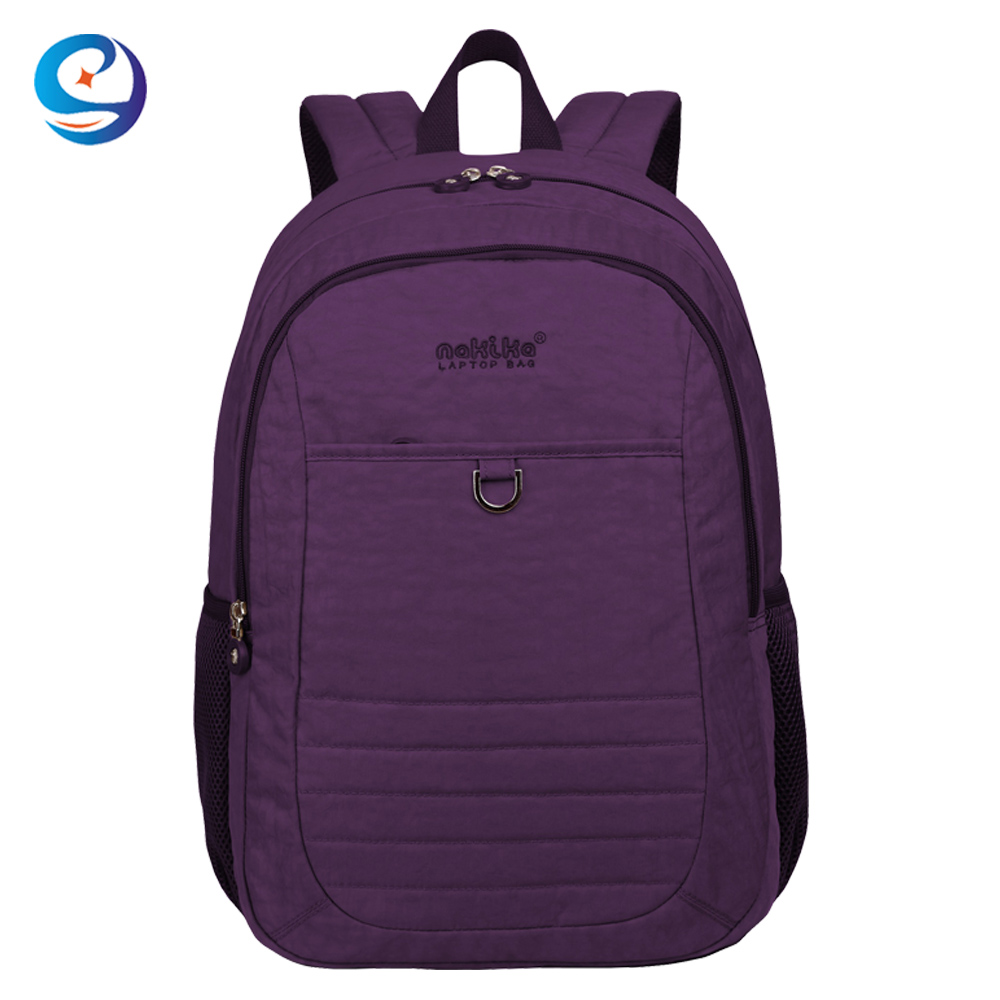 Custom brands durable trendy school backpack daily backpacking notebook backpack
