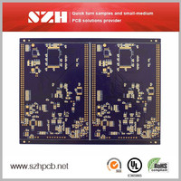 Immersion Gold 6 layers 1oz 1.6MM printed circuit board severice in China