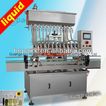 Automatic juice and liquid filling machine