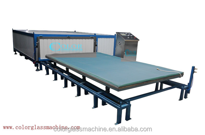Two Layers Float Glass Deep Processing Machinery Glass Laminating Furnace