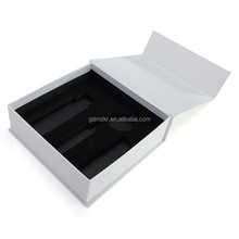 Eco-friendly custom different types usb photo gift box packaging with eva