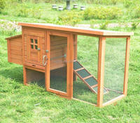outdoor wooden chicken houses