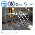 TwoTiers Galvanized Steel sports Duplex cycle rack (SGS ISO TUV Approved)