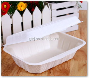 450 ml biodegradable disposable lunch box