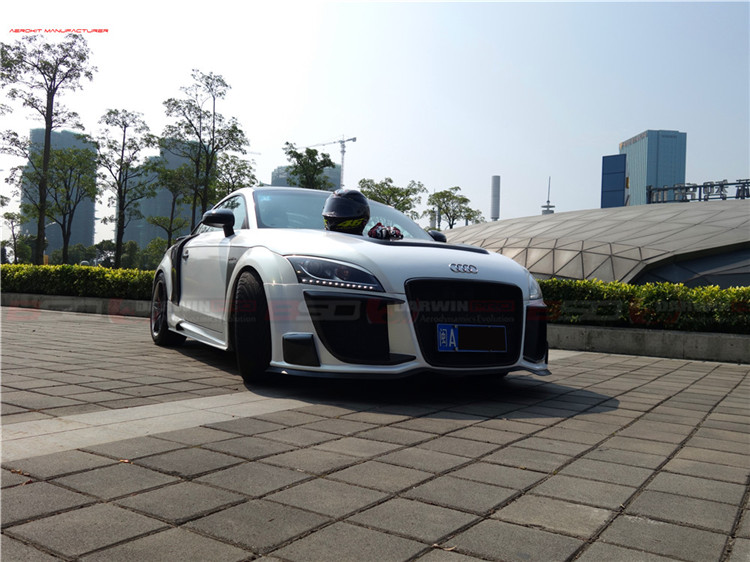 2007-2014 TT DP-RG Style Fiber Glass Body Kit For Audi