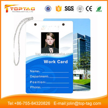 Free Sample! Custom PVC Rfid Smart Card Photo ID Card ICODE SLI X For School Student