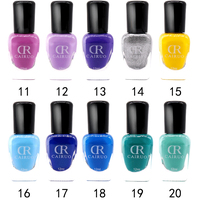 Hot Selling Private Label 36 Colors Water-based Nail Polish OEM Nail Beauty Tool