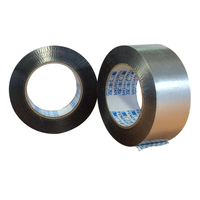 Sealing Fire Rating sliver Aluminum Foil Adhesive Tape