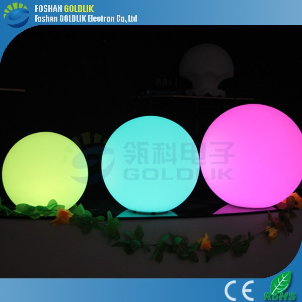 Wireless DMX Party/Hotel Decoration LED Decorative Light Garden Ball