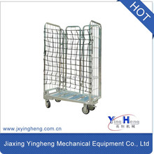 Roll container 4-sided nesting A-frame , roll cage ,trolley cart for highest space efficiency