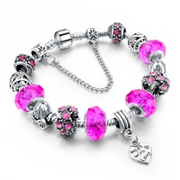 Fashionable Snake chain Bracelets Fit Pandora Charm Beads Bracelet
