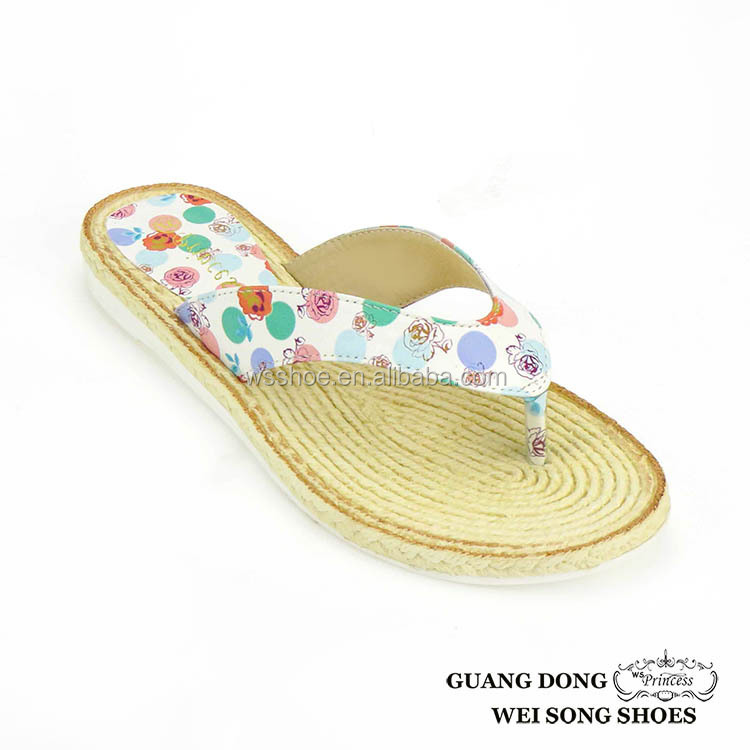 Ladies Daily Wear Slipper Coloured Sublimation Flip Flops New Products Shoes