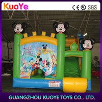 mickey mouse bounce house bouncy castle cheap inflatable bouncers for sale