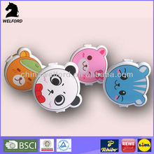 animal shape bento box plastic lunch box for kid