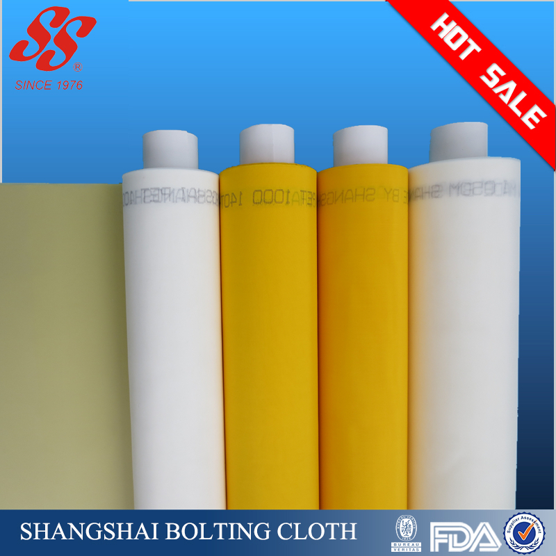 polyester or nylon mono filter screen printing mesh for water filtering