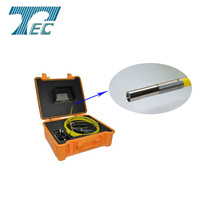 waterproof pipe plumbing inspection camera with Hand Held Monitor TEC-Z710DK5 usb borescope endoscope inspection snake camera