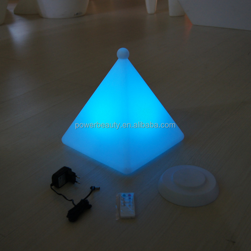 led pyramid shaped light buy led pyramid shaped light led pyramid lamp for home pyramid shape. Black Bedroom Furniture Sets. Home Design Ideas