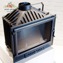 Applicable to a variety of environments Cast Iron Multi Fuel Fireplace Insert