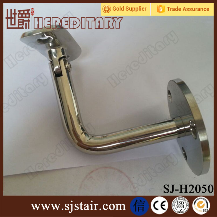 modern design stainless steel wall handrail supports brackets