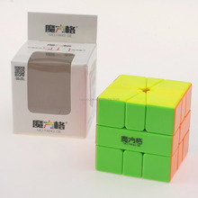 Qiyi MoFangGe MFG Square-1 SQ1 3X3 Speed Cube Magic Cube Stickerless Plastic Cube Puzzle Kids Toys
