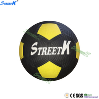 Streetk Brand wholesale promotional custom print rubber football