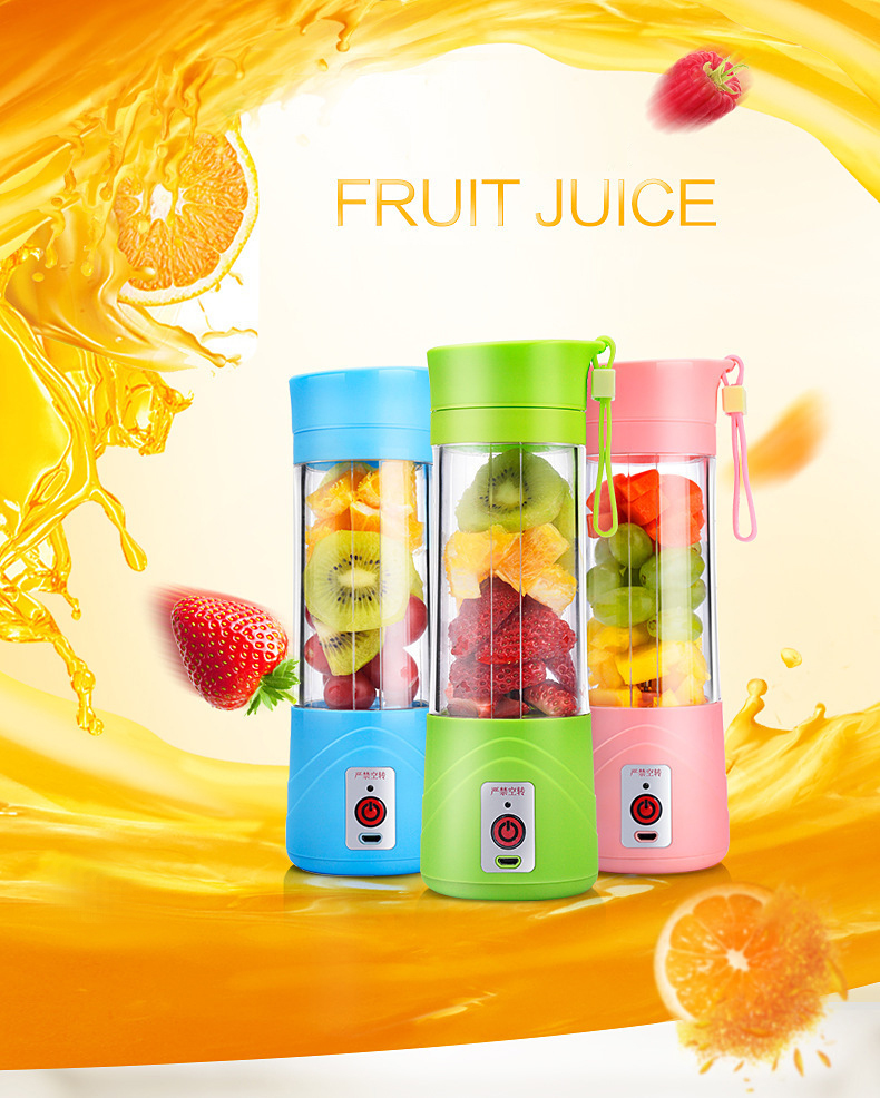 Best Professional Baby Food Blender/400ml Portable Self Blending Juicer Cup