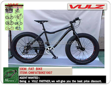 OEM FAT TYRE BIKES10079 Cruiser bike aluminum alloy frame 26 inch big tyre bicycle snow bike