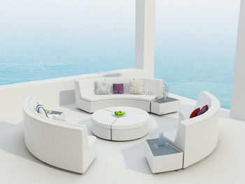 Rattan Semi-circle sofa Rattan furniture
