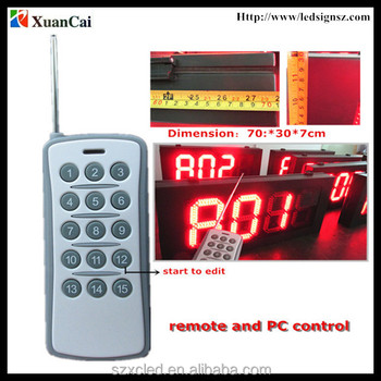 gas station led price sign oil price board high brightness