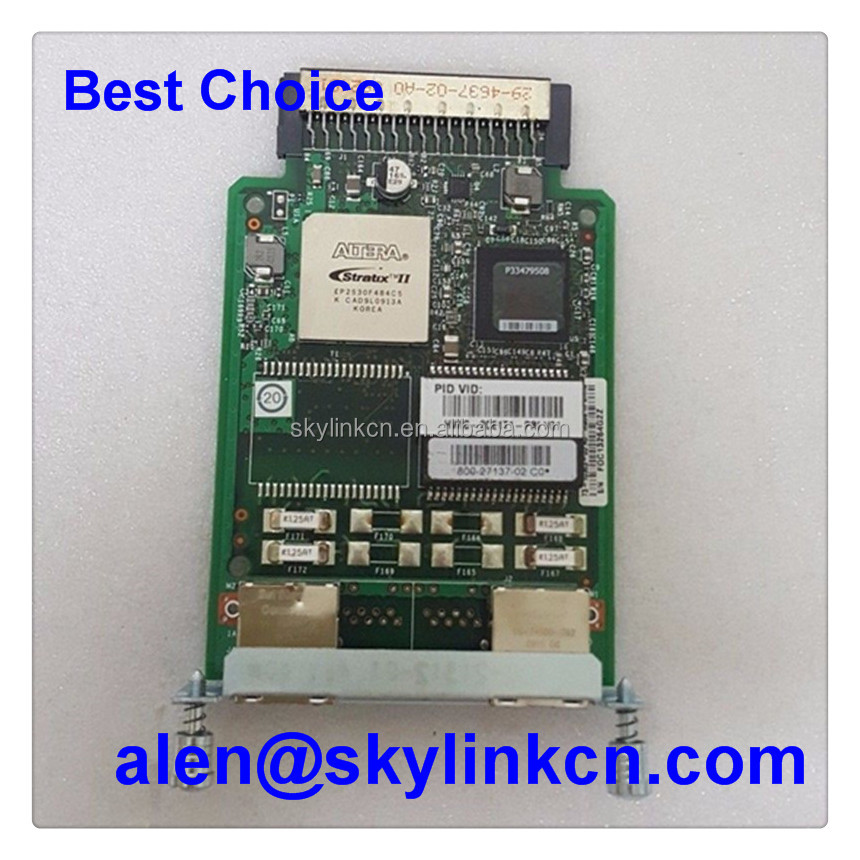 High Quality Router Module Network Module HWIC-2CE1T1-PRI