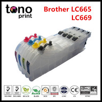 LC665 LC669 Compatible Ink cartridge for Brother MFC-J2320