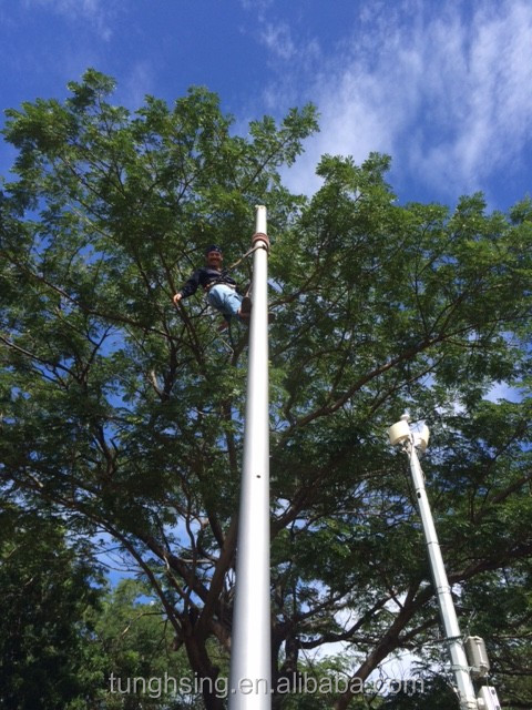 FRP power pole systems electric pole