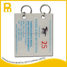 Free design acrylic digital printing key chain with customized LOGO