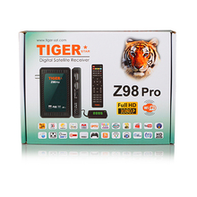 The Most Popular Tiger Z98 pro Wholesale Full HD Digital Satellite Receiver support three months iptv and one year IKS for free