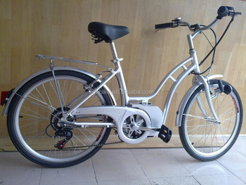 24'' CE lithium battery city electric bike bicycle