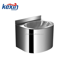 The fine quality stainless steel hand wash basin set