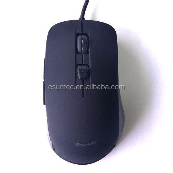 New Private Computer 6D Gaming Mouse Professional Gamer Mouses With RGB LED Backlit GM-179