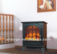big freestanding stove with remote control