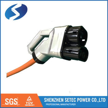 CCS CHAdeMO connector for electric vehicle EVSE
