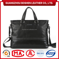 High End Office Men's Bag For Laptop High Quality Briefcase Leather