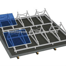 solar panels, flat roof power station pv mounting systems
