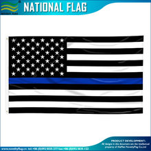 Wholesale thin blue line american flag 3 x 5 foot