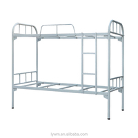 Modern double over double dormitory Metal bunk beds up down bed
