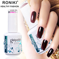 RONIKI Gelpolish Guangzhou Factory Cheap Wholesale Nail Gel Polish OEM For Nails