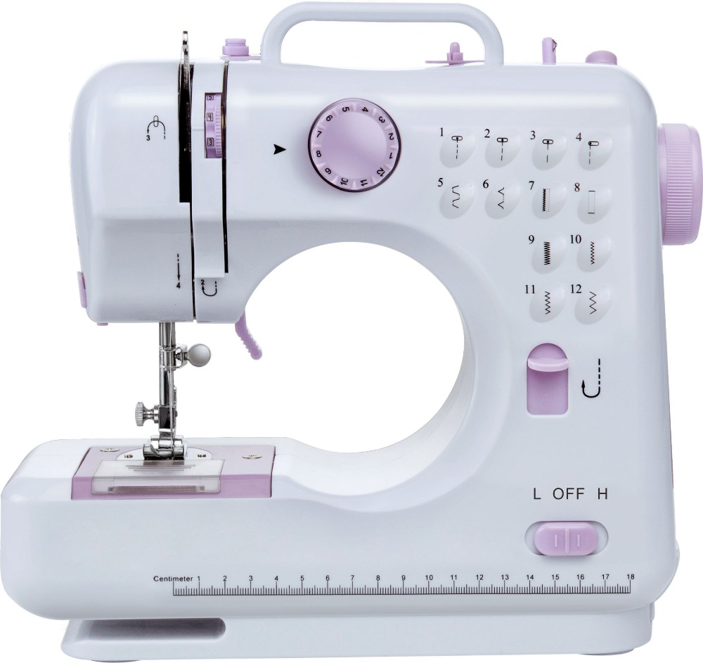 ZOGIFT second hand 12 stitches household sewing machine FHSM-505