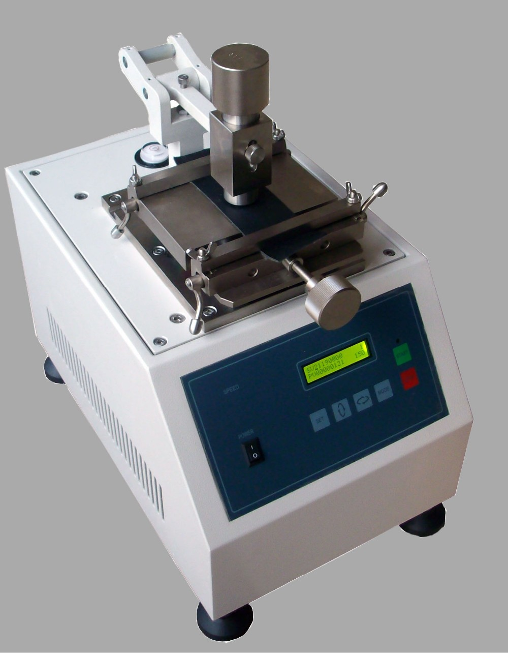 Iultcs Rub Test equipment for color fastness of leather and textile