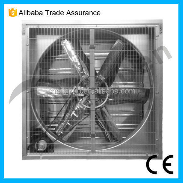 Construction Ventilation Fans : Big wind blower rate low noise restaurant axial exhaust